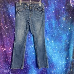 Mossimo- Light Wash Bootcut Jeans size 6 short